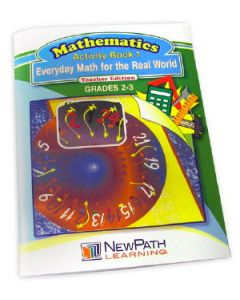 Everyday Math for the Real World Series Workbook - Book 1 - Grades 2 - 3 - Print Version