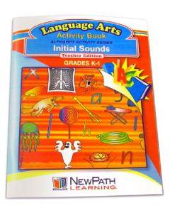 Alphabet Activity Series - Initial Sounds Workbook - Grade K-1  - Print Version