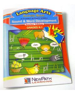 Alphabet Activity Series - Sound and Word Development Workbook - Grades K - 1 - Print Version