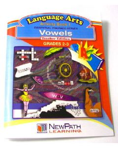 Essential Phonics Series - Vowels Workbook - Grades 2 - 3  - Print Version
