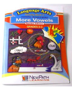 Essential Phonics Series - More Vowels Workbook - Grades 2 - 3 - Print Version