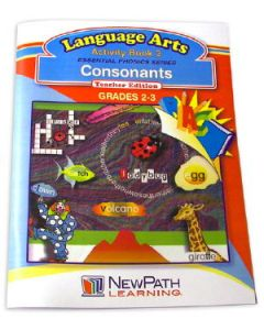 Essential Phonics Series - Consonants Workbook - Grades 2 - 3 - Print Version