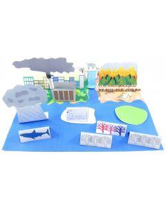 Water Cycle 3-D Model Making Kit