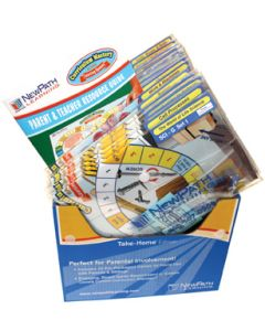 All About Geometry Curriculum Mastery® Game - Grades 3 - 6 - Take-Home Edition