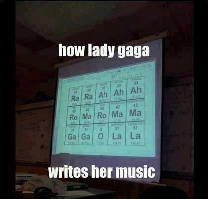 Lady gaga science