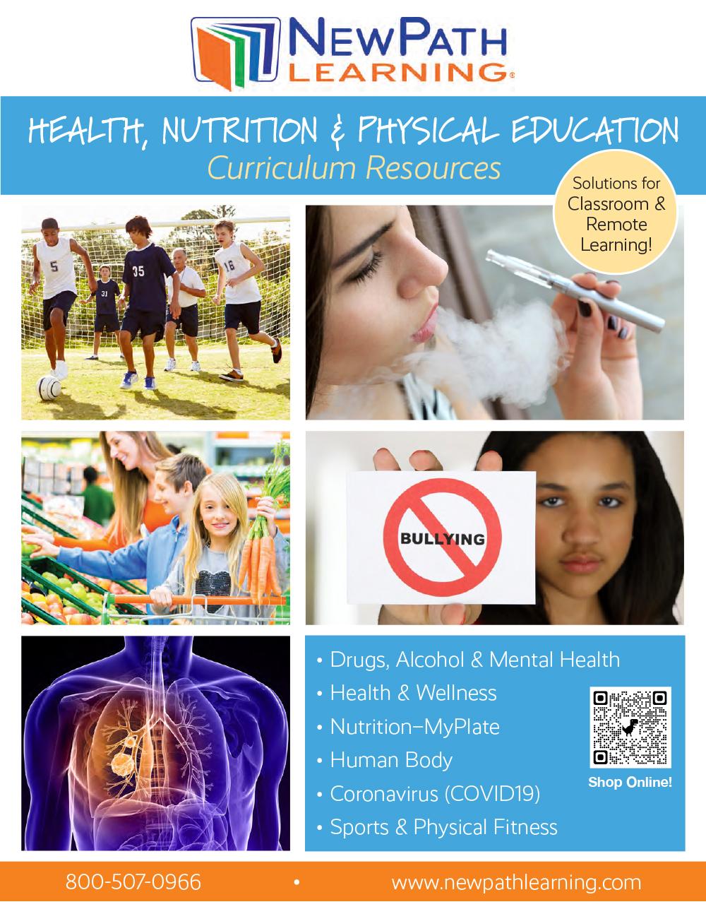 Health - Nutrition Catalog Cover