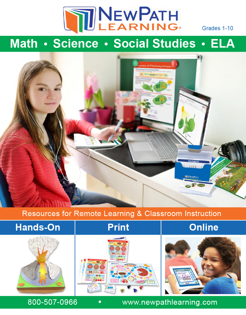 Remote Learning Catalog Cover